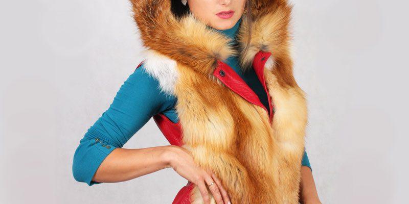 Модные женские жилетки из меха и кожи по вашим меркам